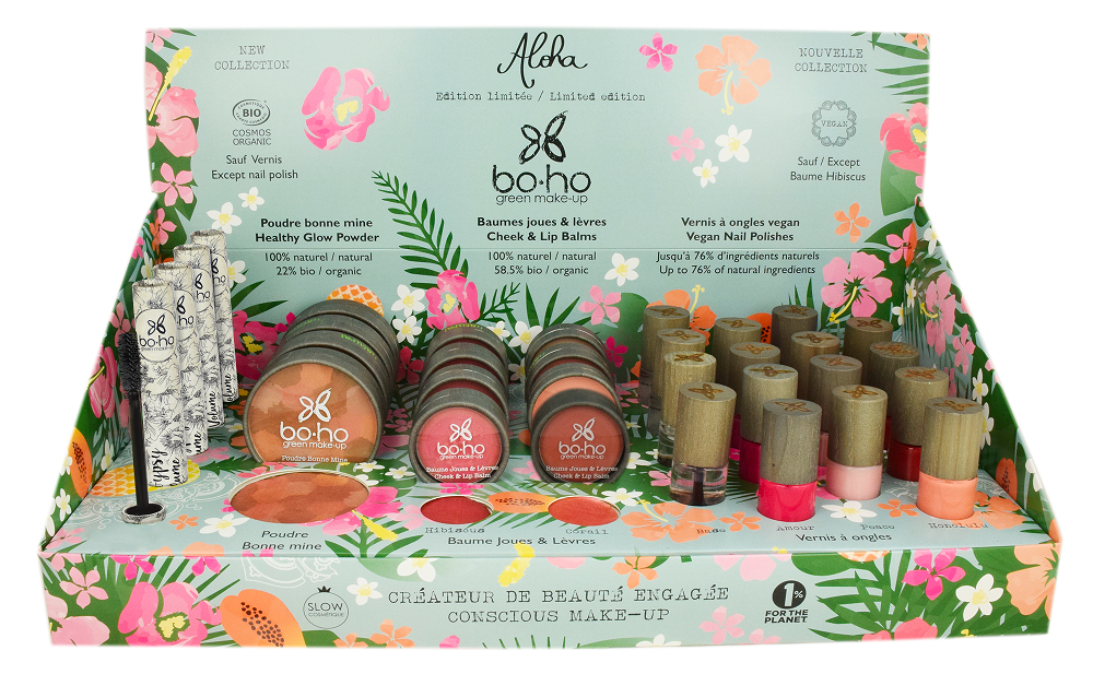 DISPLAY ALOHA COLLECTION 2019